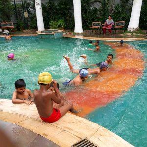 Swimming camp